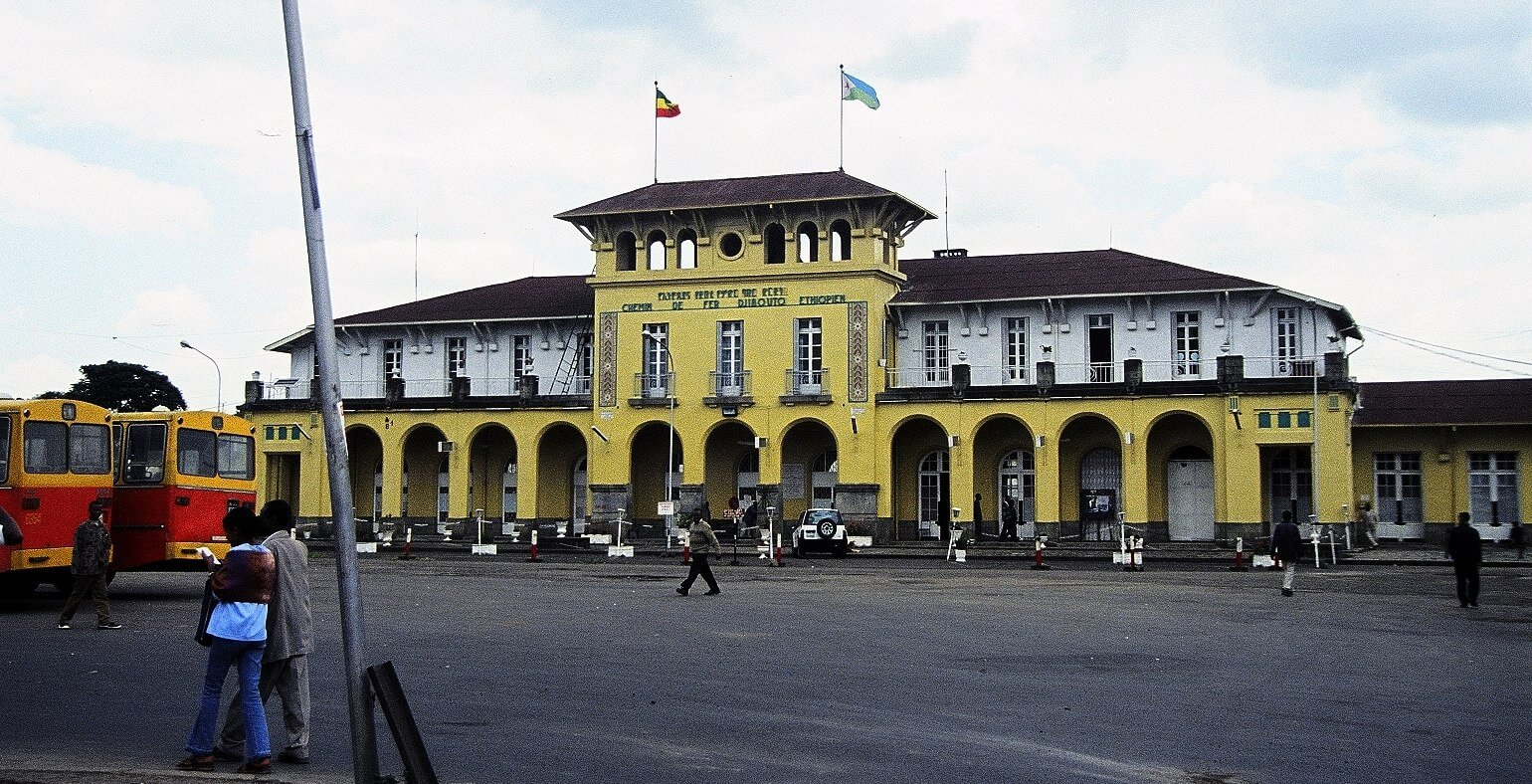Ethiopia, Addis-Ababa train station