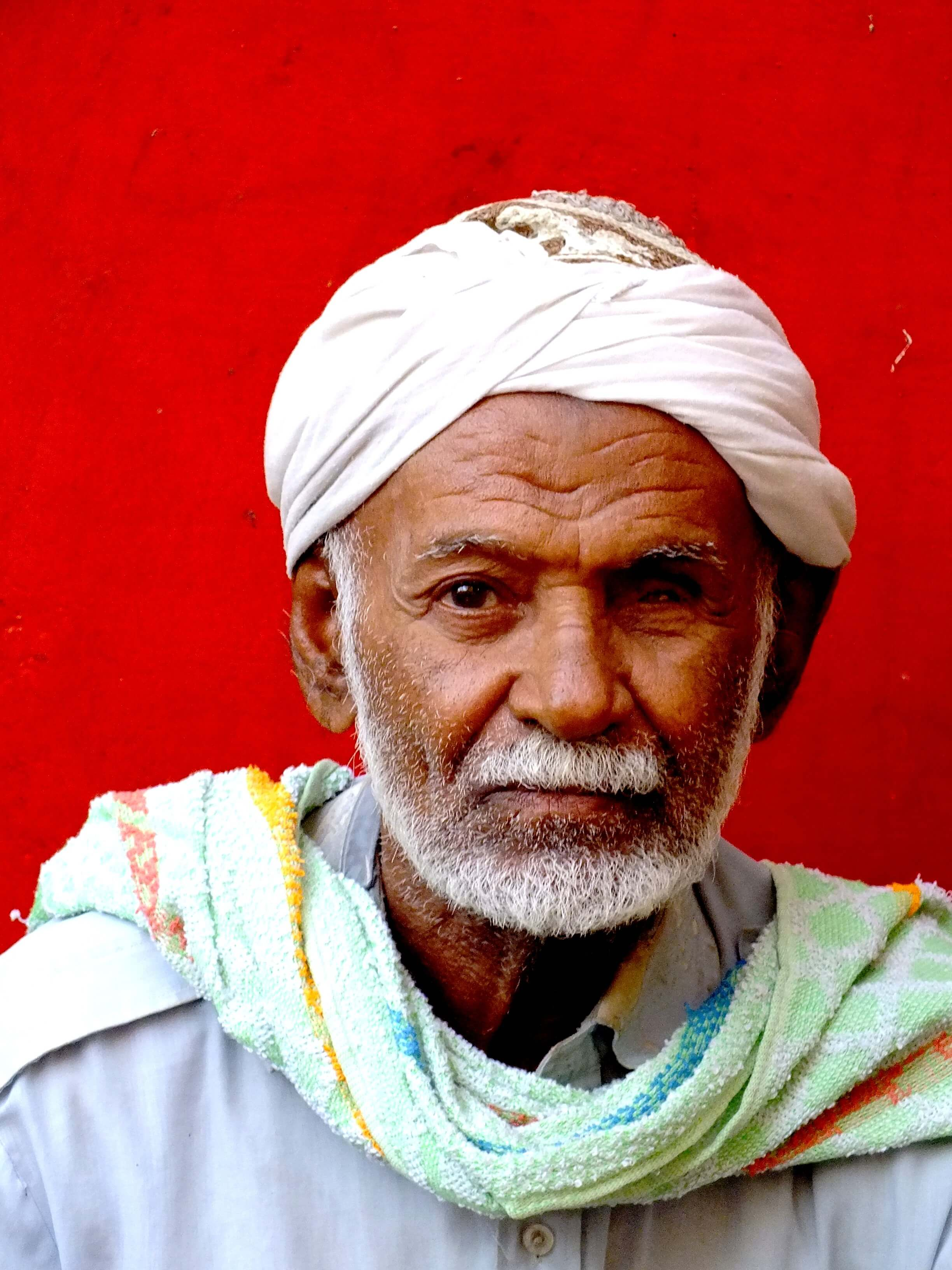 Djibouti, old man