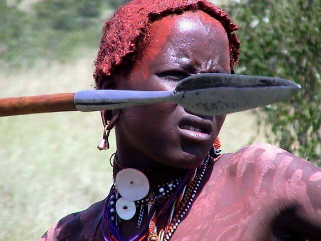 Kenya, Maasai Warrior
