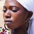 woman, Mali, decorated, queen, beautiful,