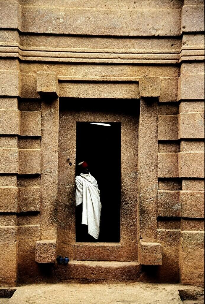 Lalibela, Ethiopia, church, Beita Emanuel, priest,