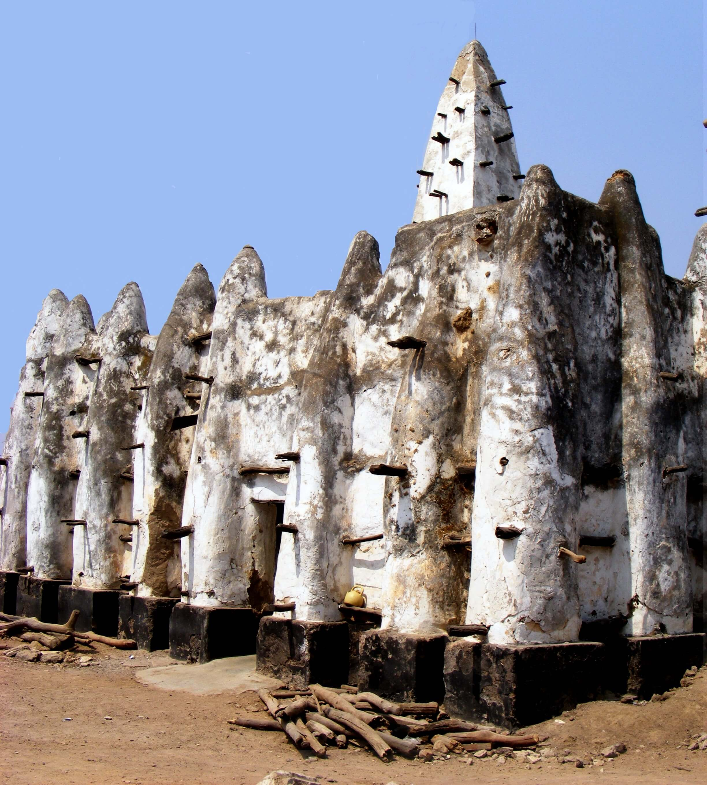 mosque, adobe,mud, tradition, Ghana, ,