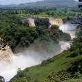 waterfall, Nile, green, Ethiopia, Bahar-Dar,
