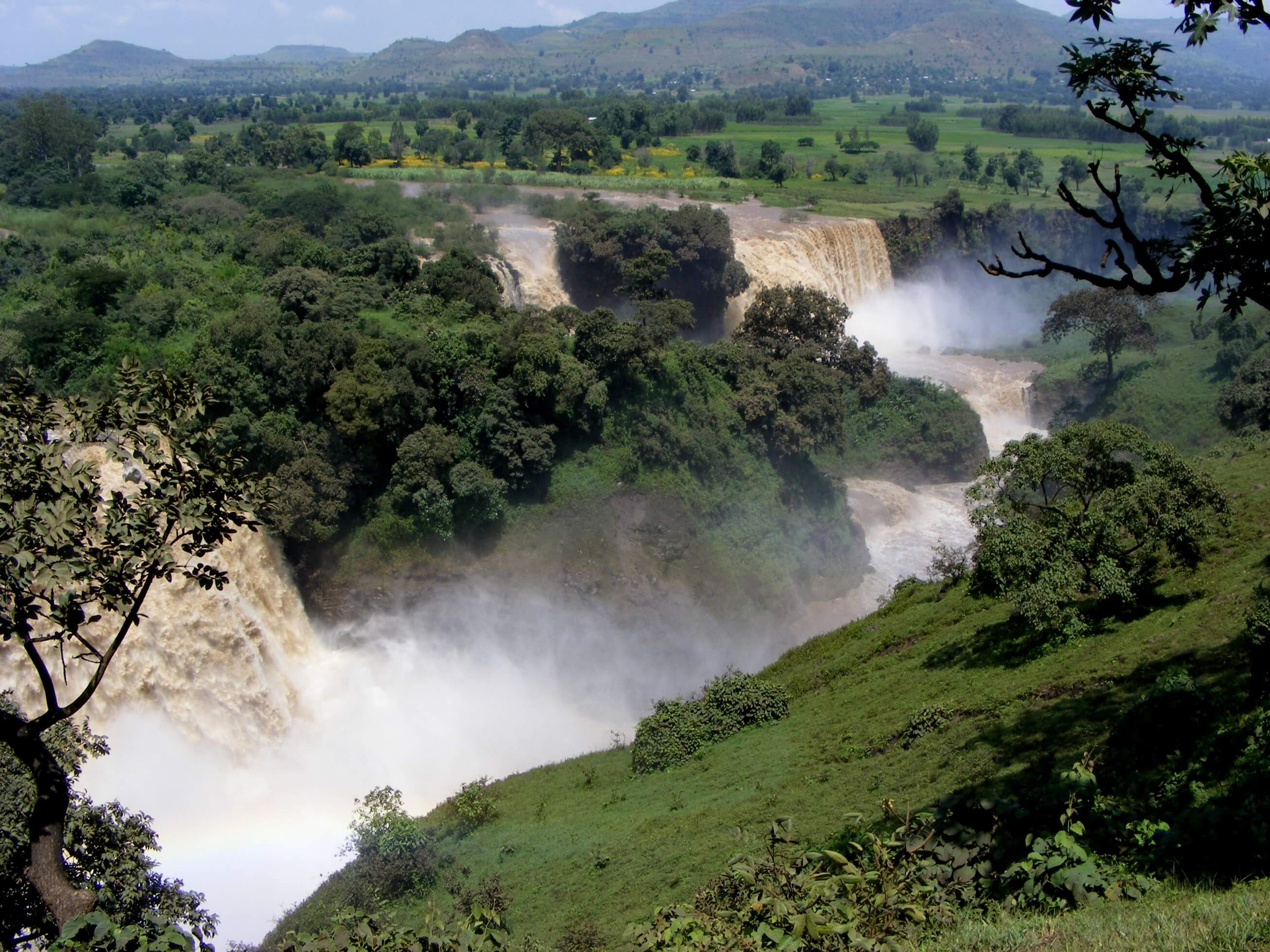 Ethiopia, Blue Nile fall