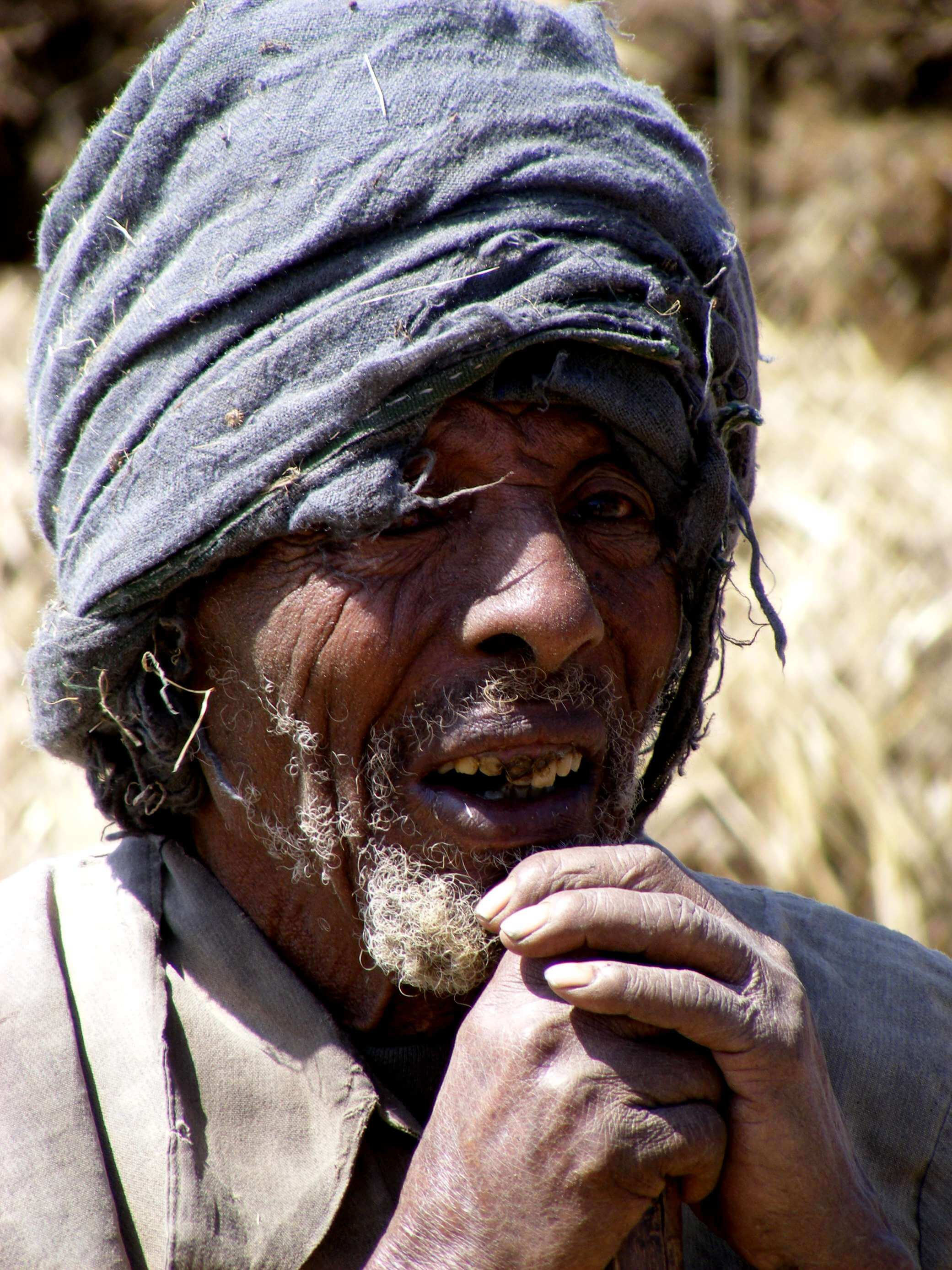 Ethiopia - an old man