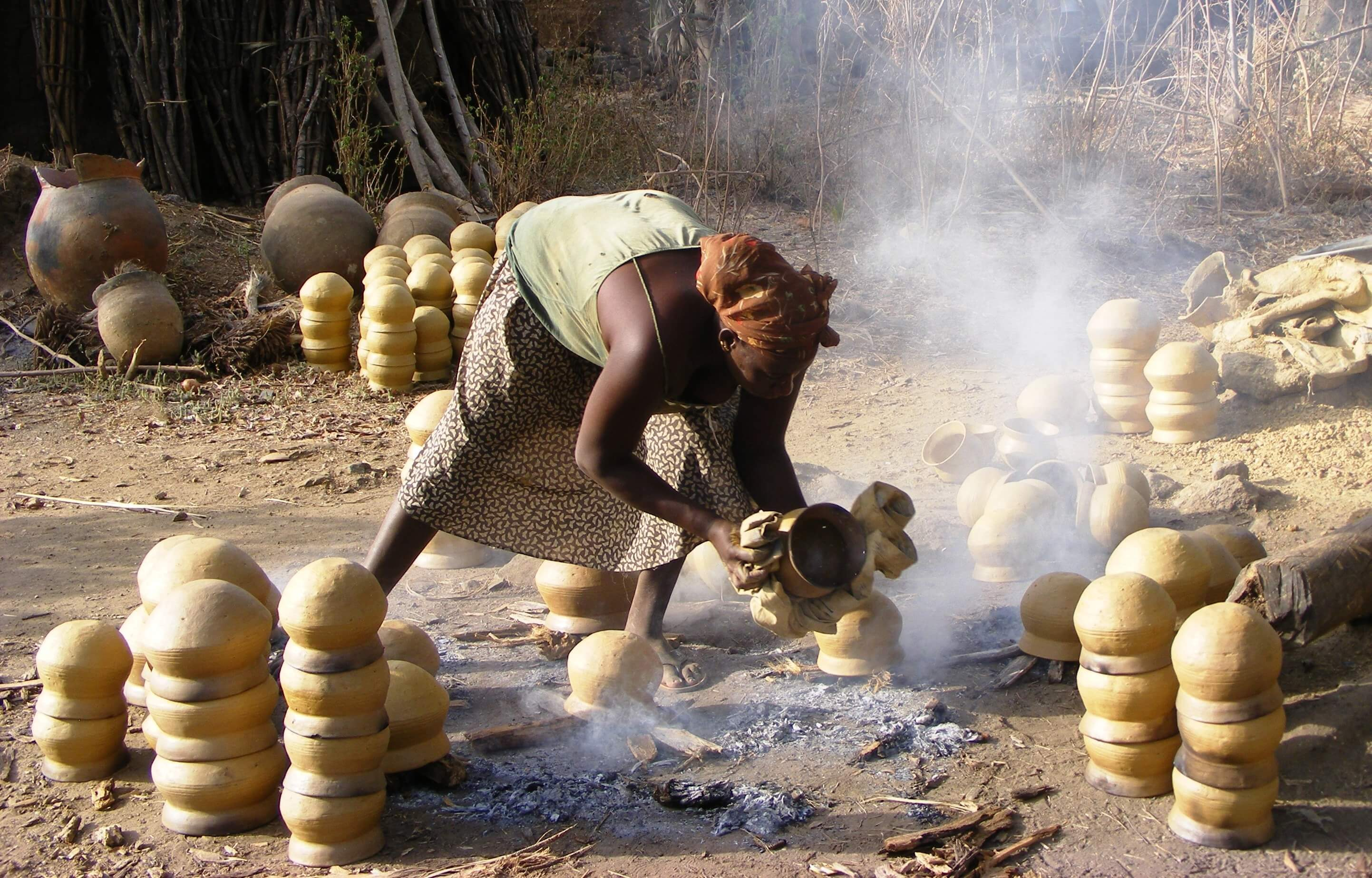 Togo, Pottery making