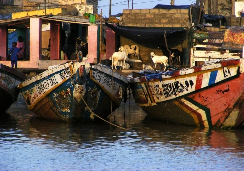 Senegal, life on the river