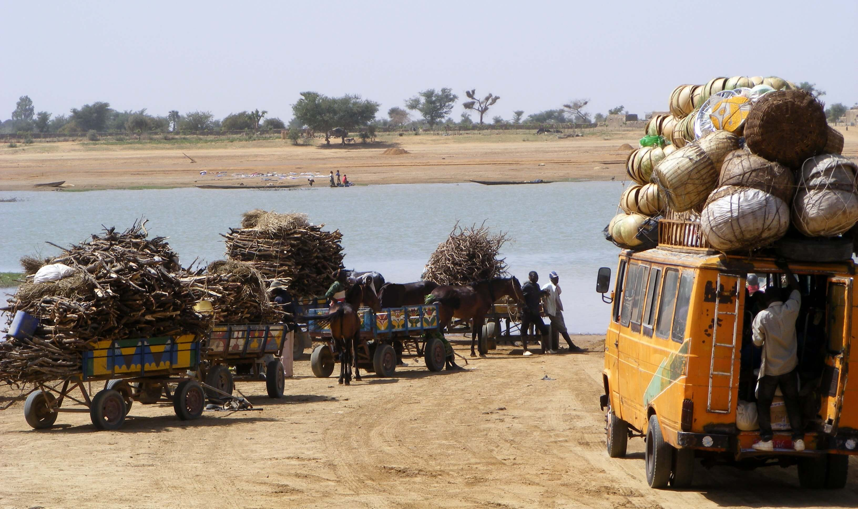 Mali,  local transport