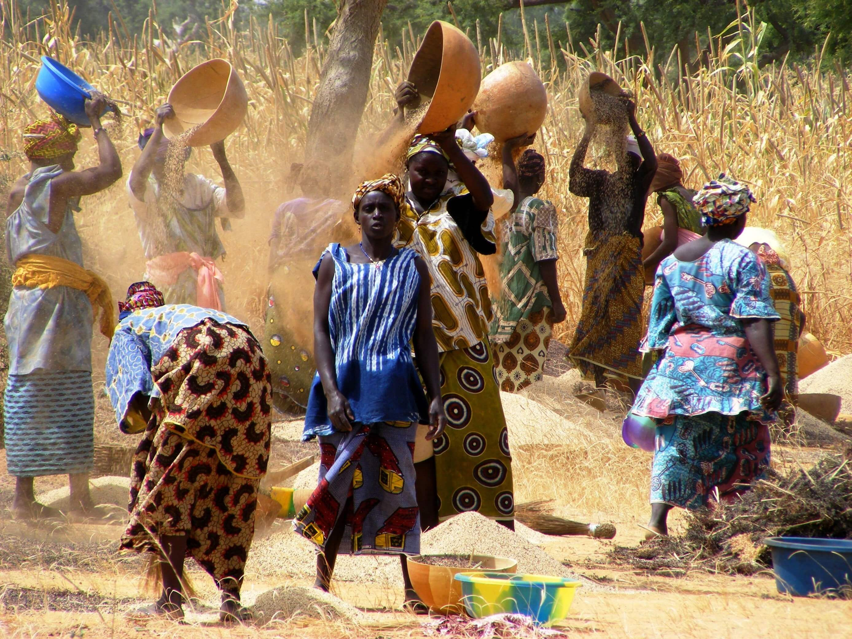 Mali, women at work
