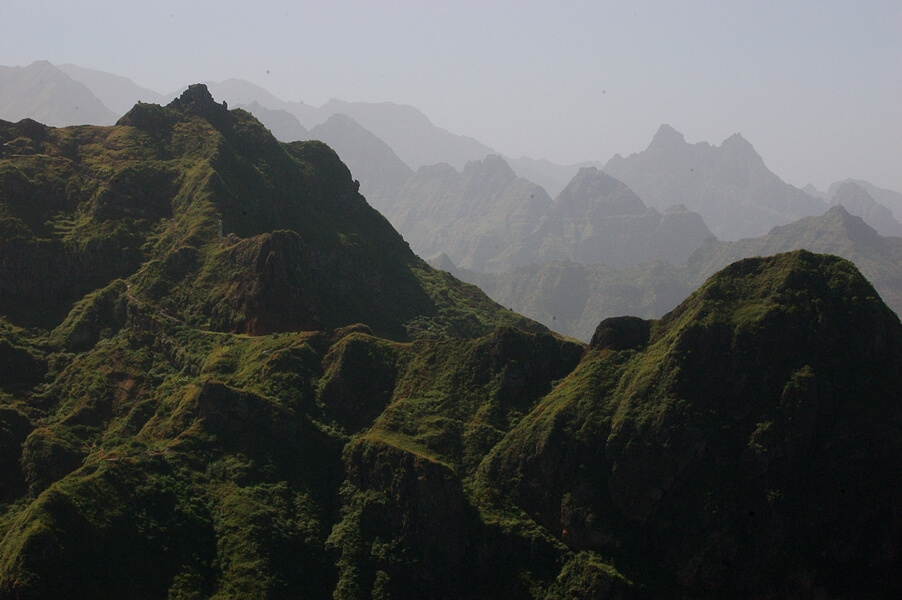 cape verde mountains