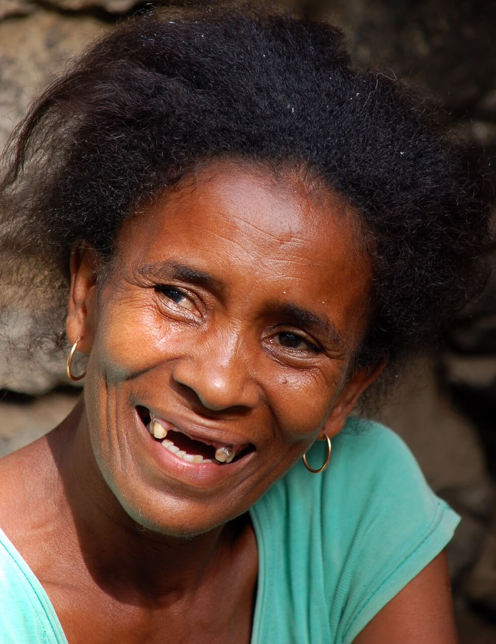 Cape Verde - smiling woman