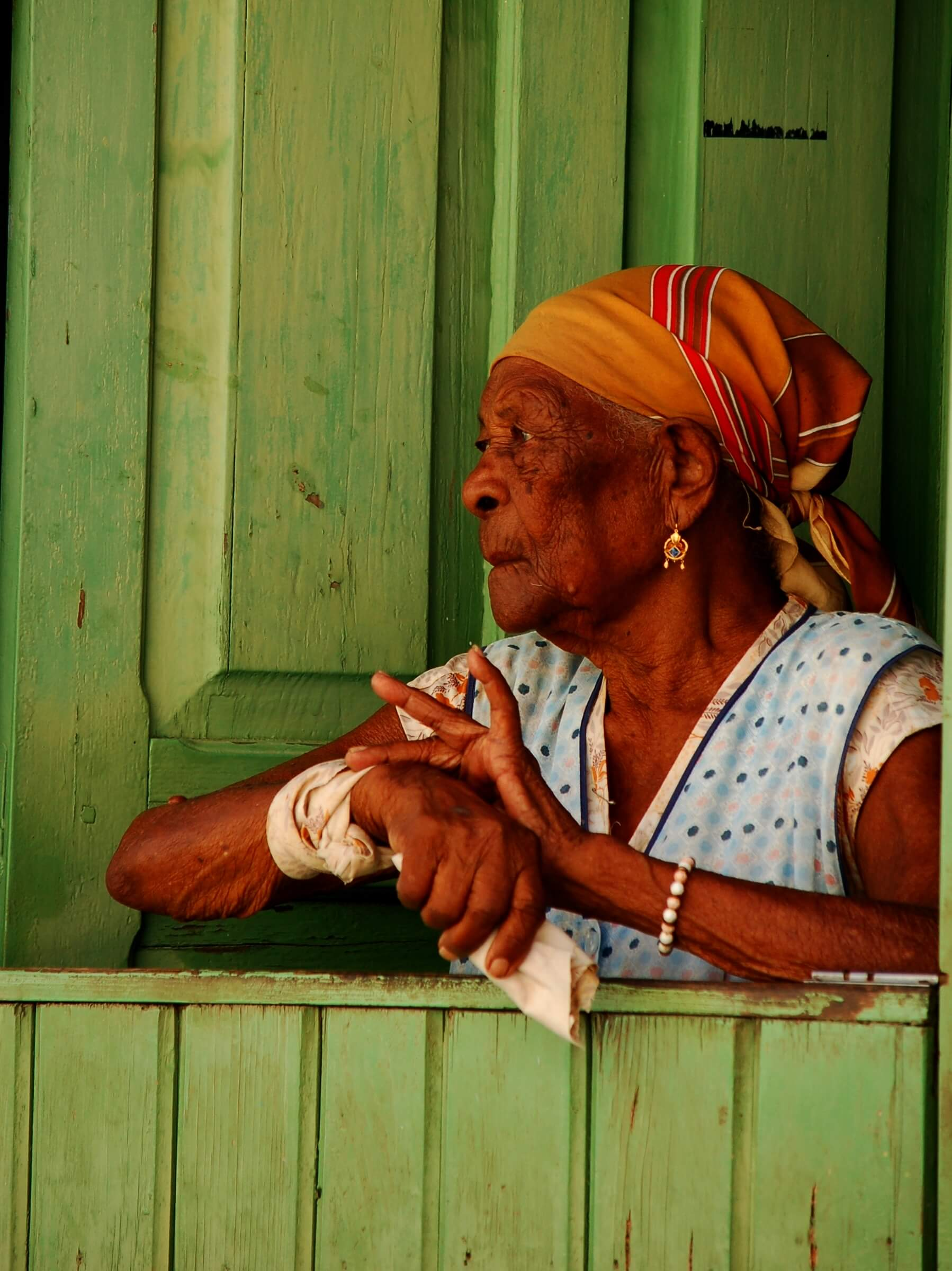 Cape Verde -  old lady