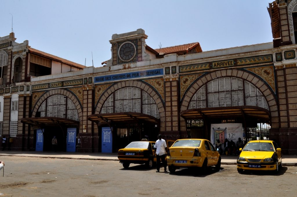 Dakar, train, station, Senegal, colonial, french, Arcitecture